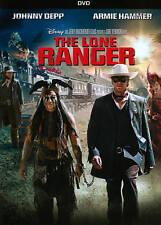 The Lone Ranger (DVD, 2013) Starring Johnny Depp & Armie Hammer - Disney (LN)
