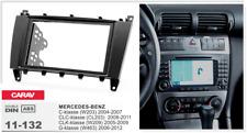 Carav 11-132 2-din kit marco adaptador de radio Mercedes C W203 CLK W209 CLC G