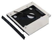 2nd SATA HD HDD SSD Hard Drive Caddy Adapter for Asus X450JF X554L R750jv U6V-A1
