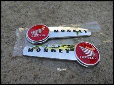 Honda Monkey Bike Monkeybike 50 Z50 Z50J EMBLEM RED FUEL TANK LH&RH / A PAIR