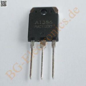 2 x 2SA1386 & 2SC3519 4 complementary transistors 130W -160V -160V PM TO-3P 4pcs
