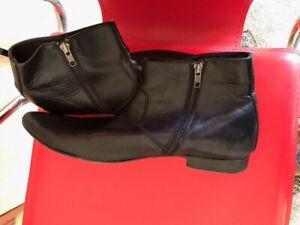 Aquila Mens Shoes Size EU44 AU9.5 side zip