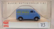 Busch 1/87 40903 DKW 3=6 Lieferwagen Kasten Kurt Büchele Mannheim OVP #073