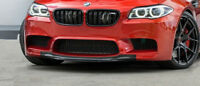 Front Bumper lower Center Lip M5 Tongue for BMW F10 F11  Chin Spoiler Valance