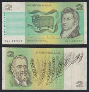 Australia 2 Dollars 1974 (85) BB Vf- C-09