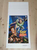 "TOY STORY Original Movie Poster 12x27"" Italian DISNEY PIXAR HANKS JIM VARNEY"
