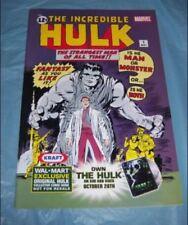 INCREDIBLE HULK #1, WALMART EXCLUSIVE REPRINT