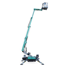 Imer 42 Tracked Boom Lift20 Side Reachonly 31wide3410 Lbs92 Footprint