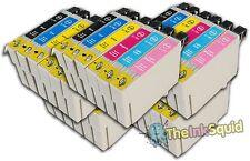 """30 T0791-T0796 """"Hibou"""" non-OEM Cartouches d'encre compatibles avec Epson Stylus px800w"""