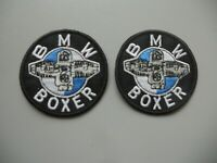 PATCH BMW BOXER N.2 TOPPE RICAMATE TERMOADESIVE DIAM CM 5