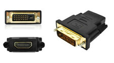 DVI-D 24+1 Dual Link Male to HDMI Female 1080P Video Adapter Converter