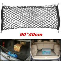 Large 90x40cm Car Net Storage Rear Boot Tidy Mesh Organizer Cargo Trunk Luggage