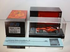 BBR MODELS BG231 FERRARI F1 2002 PRESS - SCHUMACHER 1:43 - EXCELLENT IN BOX