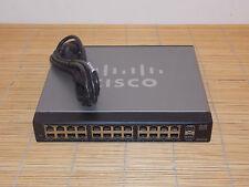 Cisco SR2024C 24-Port 10/100/1000 Compact Gigabit Switch