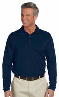 Ashworth Men's Casual Long Sleeve 100% Cotton Polo Shirt Tee Top. 1352