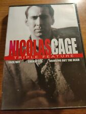 Nicholas Cage Triple Feature (Dvds, Face/Off, Snake Eyes, Bringing Out The Dead)