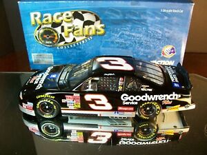 Dale Earnhardt #3 GM Goodwrench With Sonic 2001 Chevrolet Monte Carlo 1:24 RFO