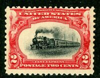 USA 1901 Pan American Expo 2¢ Train Scott #295  MNH W958