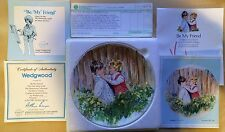 Mary Vickers Plate 1 in My Memories Series Be My Friend Plate 1981 Wedgwood Rare