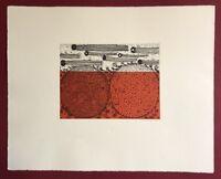 Kazuki Nakahara, ohne Titel, Farbradierung, 2011, handsigniert und datiert