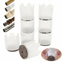 8pcs Silicone Chair Leg Caps Feet Pads Furniture Table Covers Floor Protectors