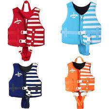 NEWAO Chaleco salvavidas para niños Kayak Ski Booyancy Aid Vest Sailing Boating