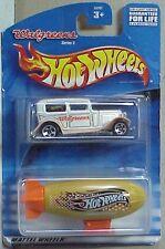 Hot Wheels Walgreens twin pack Ford Sedan, Hot Wheel Blimp in custom blister pk