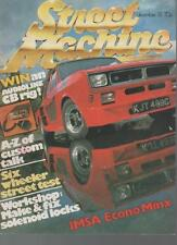STREET MACHINE MAGAZINE  DECEMBER 1981 VOL.3 NO.8  VANS & TRUCKS    LS