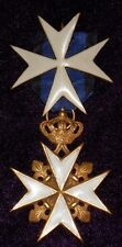 """IMPERIAL RUSSIAN MEDALS """"ORDER OF ST. JOHN OF JERUSALEM"""" 1&2 DEGREES"""" COPY"""