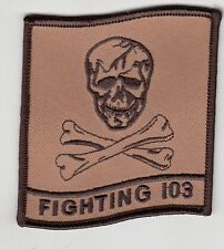 VFA-103 JOLLY ROGERS DESERT COMMAND PATCH