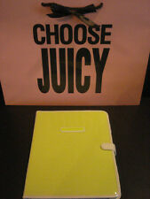 NEW JUICY COUTURE SEQUIN COVERED NEON YELLOW IPAD 1, 2 or 3 Sleeve Cover