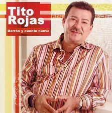 FREE US SHIP. on ANY 2 CDs! ~Used,VeryGood CD Tito Rojas: Borron Y Cuenta Nueva