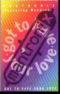 MANTRONIX GOT TO HAVE YOUR LOVE VINTAGE CASSETTE SINGLE SEALED