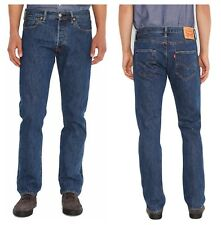 Hommes LEVI 501 Original Levi's Strauss Stone wash  straight  Jeans * 44 X 34