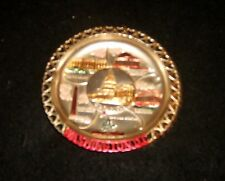 Vintage Washington DC US Capitol  Metal State Ashtray Made in Japan Souvenir