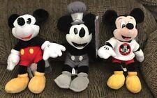 Walt Disney World 2000 Millennium Mickey Trio Beanbag Plush New W/tags