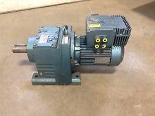 Sew Eurodrive DFV100M4MM22C 460 VAC 300-1800 RPM 72:1 Ratio R87DV100M4MM22C (TSC