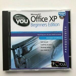 Teaching You CD-ROM - Microsoft Office XP Beginners Edition