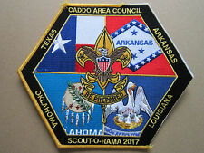Caddo Area Council Scout O Rama BSA Cloth Patch Badge Boy Scouts Scouting (L2K)
