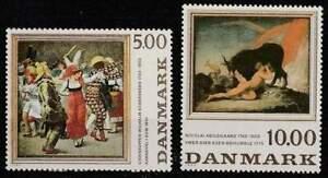Denemarken postfris 1984 MNH 819-820 - Kunst / Art