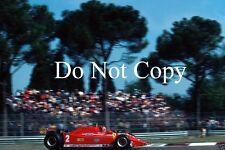 Gilles Villeneuve Ferrari 312 T5 Italian Grand Prix 1980 Photograph 2