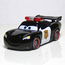 Disney Pixar Cars Police Car Lieutenant Lightning Mcqueen 1/55 Diecast