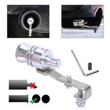 Sliver Turbo Sound Exhaust Whistle Muffler  Auto Blow-off Valve Simulator L