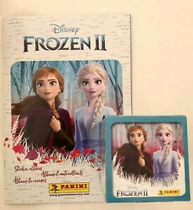 Panini Disney Frozen 2 Sticker Collection Album With 50 sealed Packs 250 Total