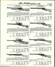 1960 ADVERT Daisy Air Rifle BB Gun Target Special Eagle Hunter Pump Ricochet ++