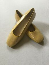 Tod's Ladies Yellow Sequined Shoes Size US 9.5 UK 6.5