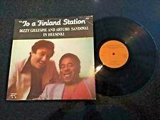 "DIZZY GILLESPIE & ARTURO SANDOVAL ""TO A FINLAND STATION"" LP PABLO (CUBA)"