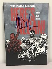 Jeffrey Dean Morgan SIGNED Here's Negan  Comic Book PHOTO PROOF The Walking Dead