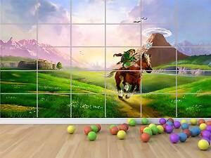 LINK ZELDA POSTER XXL GAMES ROOM SALLE DE JEUX 02