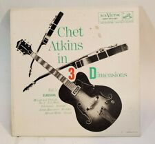Chet Atkins  CHET ATKINS IN 3 DIMENSIONS (EPA 687 45) PLAYS VG++ NO NOISE!
